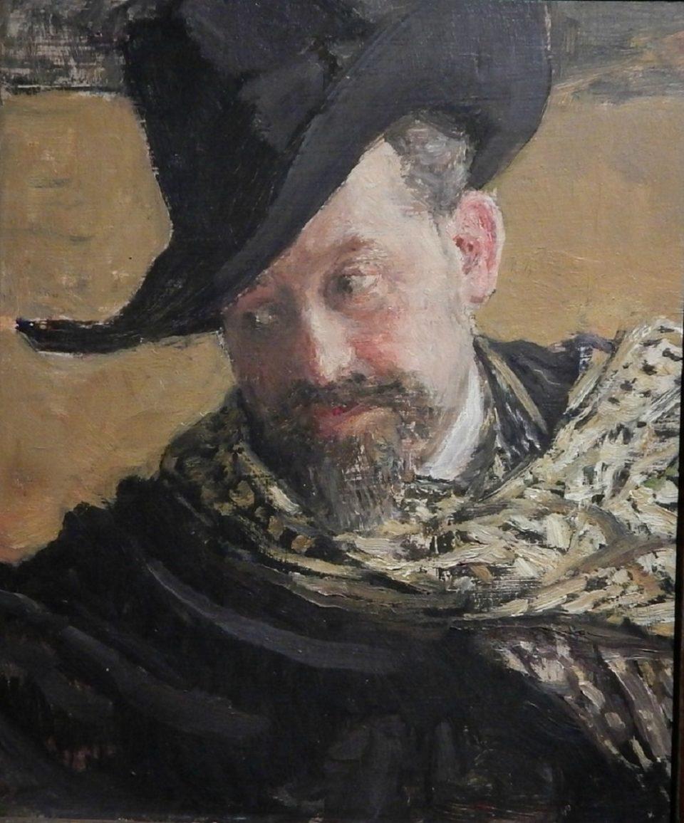 Ris.5.Repin.1920.Gospodin-v-shlyape.